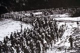 The important Battle of Dien Bien Phu was fought between the Việt Minh (led by General Vo Nguyen Giap), and the French Union (led by General Henri Navarre, successor to General Raoul Salan). The siege of the French garrison lasted fifty-seven days, from 5:30PM on March 13 to 5:30PM on May 7, 1954.<br/><br/>  The southern outpost or fire base of the camp, Isabelle, did not follow the cease-fire order and fought until the next day at 01:00AM; a few hours before the long-scheduled Geneva Meeting's Indochina conference involving the United States, the United Kingdom, the French Union and the Soviet Union.<br/><br/>  The battle was significant beyond the valleys of Dien Bien Phu. Giap's victory ended major French involvement in Indochina and led to the accords which partitioned Vietnam into North and South. Eventually, these conditions inspired the United States to increase their involvement in Vietnam leading to the Second Indochina War.<br/><br/>  The battle of Điện Biên Phủ is described by historians as the first time that a non-European colonial independence movement had evolved through all the stages from guerrilla bands to a conventionally organized and equipped army able to defeat a modern Western occupier in pitched battle.